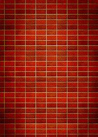 赤茶色のレンガが並ぶパターン背景A4サイズ(縦長)