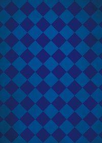 紺色のハーリキンチェック柄のA4サイズ背景素材
