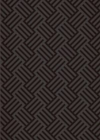 黒色のバスケットチェック柄のA4サイズ背景素材