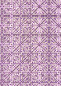 紫色のエスニック調A4サイズ背景素材