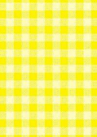 黄色のシェパードチェック柄A4サイズ背景素材