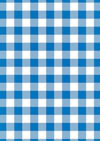 青と白のシェパードチェック柄A4サイズ背景素材