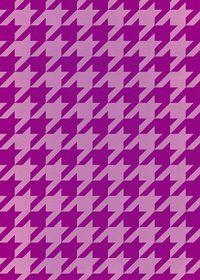 紫色のハウンドトゥース柄A4サイズ背景素材