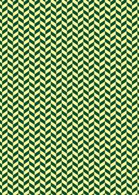 黄色と緑のヘリンボーン柄A4サイズ背景素材