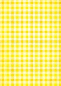 黄色配色のガンクラブチェック柄のA4サイズ背景素材