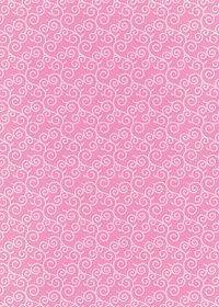 ピンク色の唐草模様柄A4サイズ背景素材