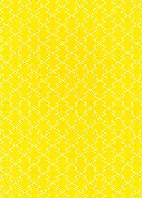 黄色の松皮菱柄A4サイズ背景素材
