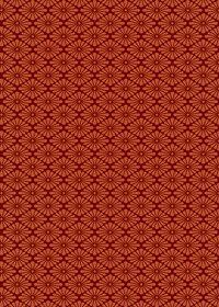 赤い菊菱柄A4サイズ背景素材