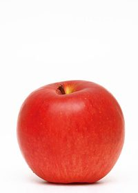 赤いりんごのA4サイズ背景素材
