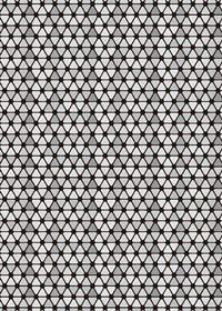 灰色のトライアングルが並ぶA4サイズ背景素材