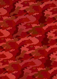 赤色の迷彩柄のA4サイズ背景素材