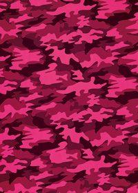 ピンクと黒の迷彩・カモフラージュ柄のA4サイズ背景素材