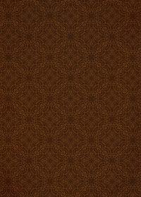 茶色のアラベスク柄壁紙のA4サイズ背景素材