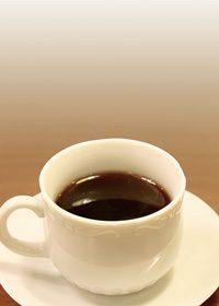 コーヒーカップのA4サイズ背景素材データ