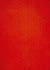 赤い組亀甲柄のA4サイズ背景素材