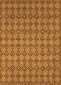 茶色のアーガイルチェック柄、A4サイズ背景素材