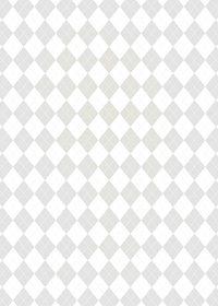 白のアーガイルチェック柄、A4サイズ背景素材